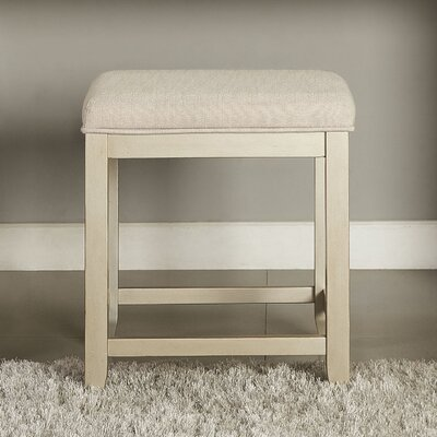Manette Vanity Stool Frame Color: Gold