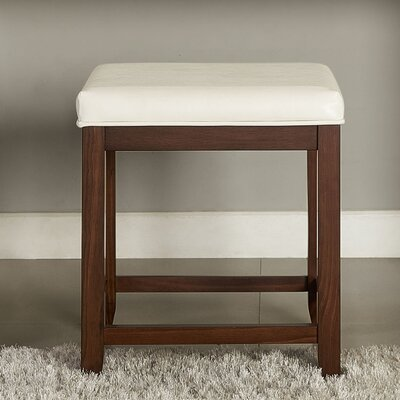 Manette Vanity Stool Frame Color: Mahogany