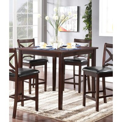 Hohl 5 Piece Counter Height Dining Set