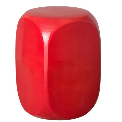 Ricardo Dice Garden Stool Color: Brown
