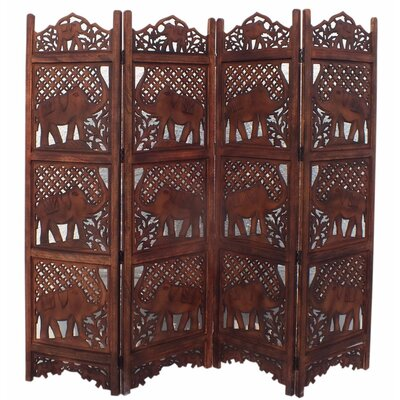 Beardall Elephant 4 Panel Room Divider