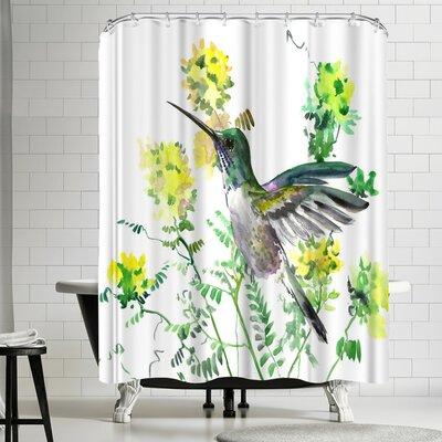 Suren Nersisyan Hummingbird V Shower Curtain