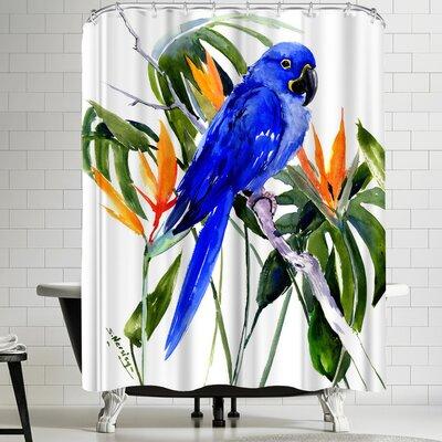 Suren Nersisyan Hyacinth Macaw Shower Curtain