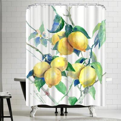 Suren Nersisyan Lemons Shower Curtain
