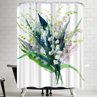 Suren Nersisyan Lilies Of The Valley Shower Curtain