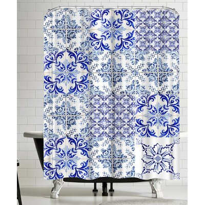 Azulejos Mix Shower Curtain