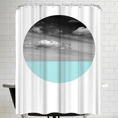 Annie Bailey Open Skies Shower Curtain