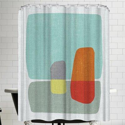 Annie Bailey Pods No IIII Shower Curtain