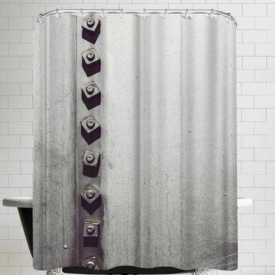 Annie Bailey Rivets No I Shower Curtain