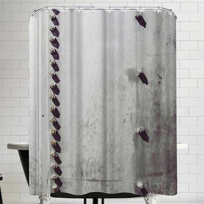 Annie Bailey Rivets No II Shower Curtain