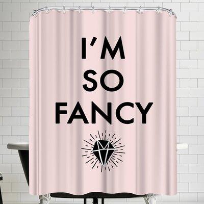 Annie Bailey So Fancy Shower Curtain