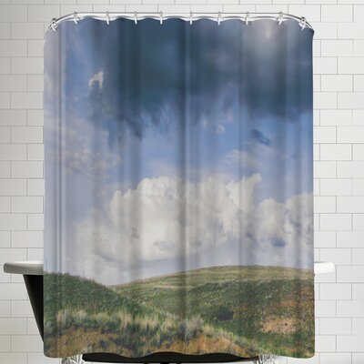 Annie Bailey Summer Breaking Shower Curtain