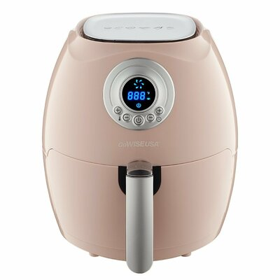 Digital Air Fryer with Recipe Book Color: Blush