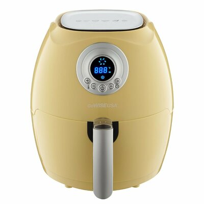Digital Air Fryer with Recipe Book Color: Majestic Yellow