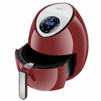3.2 Liter Electric Air Fryer Color: Red
