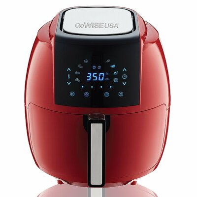 5.5 Liter 8-in-1 Electric Air Fryer Color: Chilli Red
