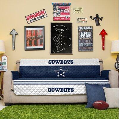 NFL Sofa Slipcover NFL Team: Dallas Cowboys