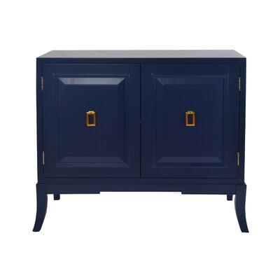Mettler 2 Door Accent Cabinet Color: Navy Blue