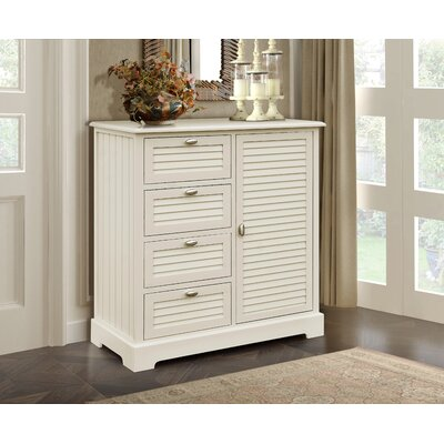 Dvorak 4 Drawer Cabinet Color: Beige