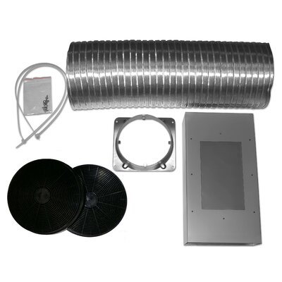 Recirculation Wall Mounted Range Hood Non-Duct Kit