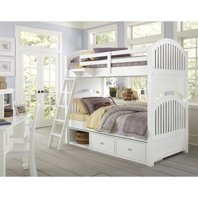 Javin Twin Over Twin Bunk Bed with Storage