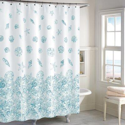 Hernandez Cotton Shower Curtain