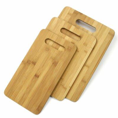 3 Piece Bamboo Cutting Board