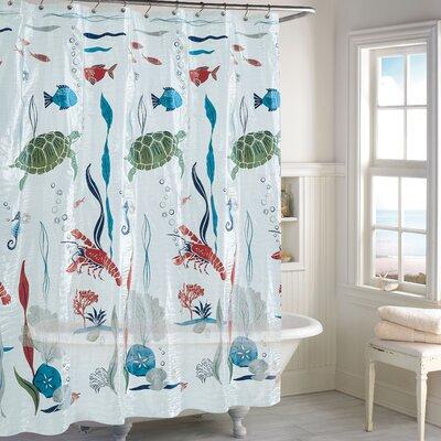 Humphery Aquarium Peva Vinyl Shower Curtain