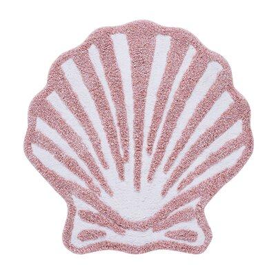 Jarosz Bath Rug Color: Coral