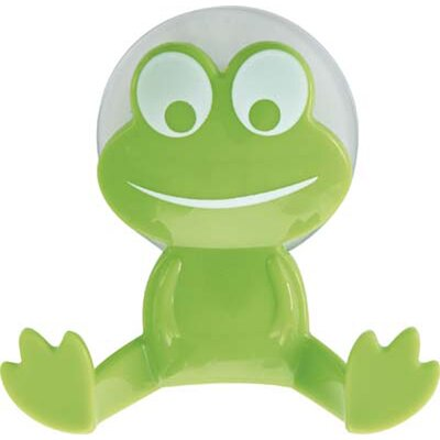 Kids Frog Wall Hook Color: Lime Green