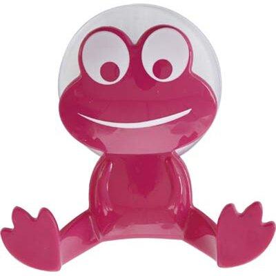 Kids Frog Wall Hook Color: Pink