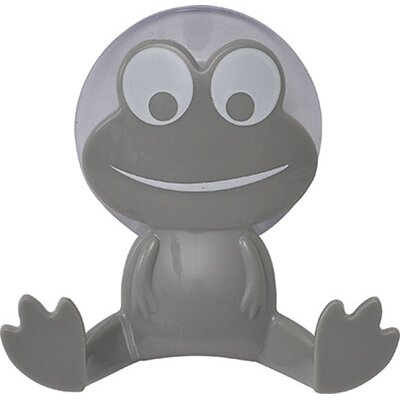 Kids Frog Wall Hook Color: Gray