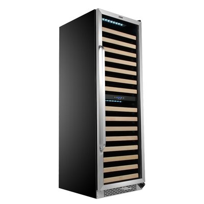 164 Bottle Dual Zone Built-In Wine Cellar