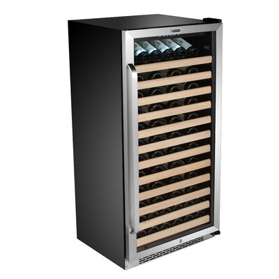 100 Bottle Single Zone Built-In Wine Cooler