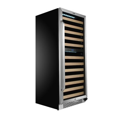 92 Bottle Dual Zone Built-In Wine Cooler
