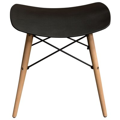 Cabrales Accent Stool Color: Black