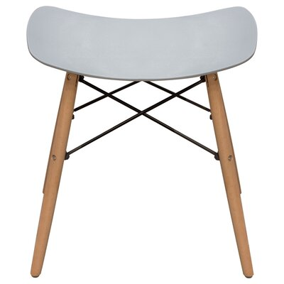 Cabrales Accent Stool Color: Gray