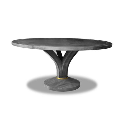 "Paschke Dining Table Color: Gray, Size: 30"" H x 48"" W x 48"" D"