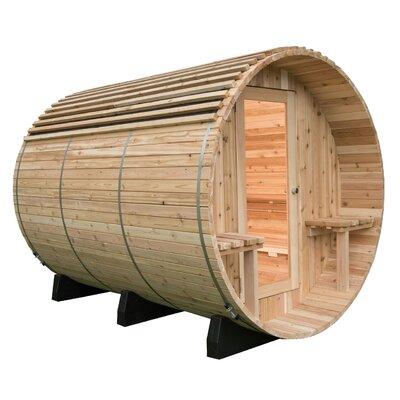Barrel Sauna Roof Cover