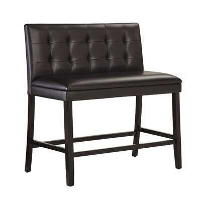 Rolfe Faux Leather Bench
