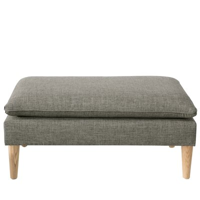 Santiago Upholstered Bench Color: Zuma Charcoal