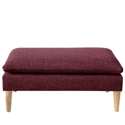 Santiago Upholstered Bench Color: Zuma Oxblood