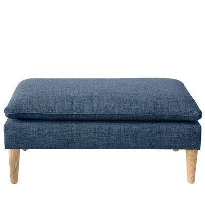 Santiago Upholstered Bench Color: Zuma Navy