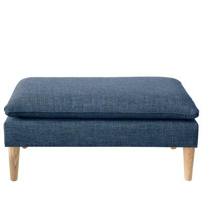 Santiago Upholstered Bench Color: Zuma Navy