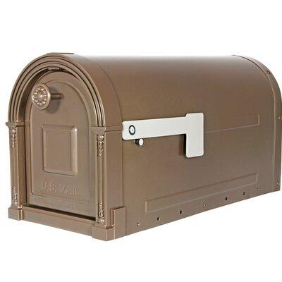 Garrison Post Mounted Mailbox