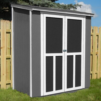 Maumee 6 ft. W x 3 ft. D Wood Storage Shed