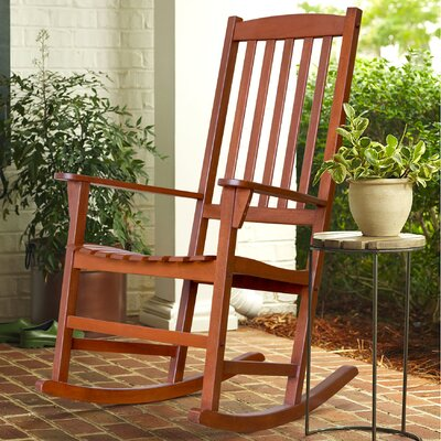 Rajesh Rocking Chair Color: Natural