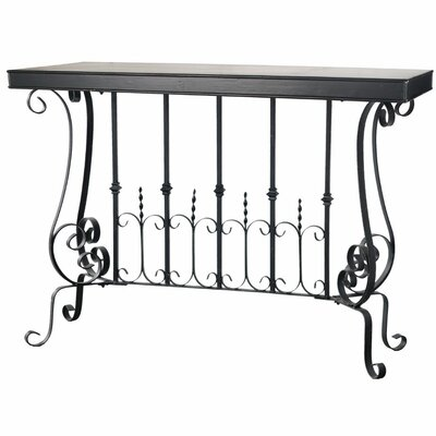 Cliff Patently Dramatic Console Table