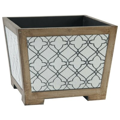 Werth Wood and Glass Planter