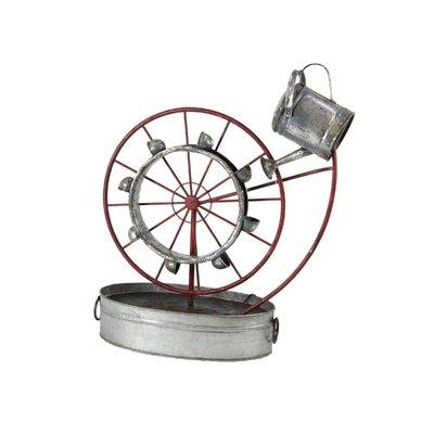Osterley Iron Wheel Water Fountain